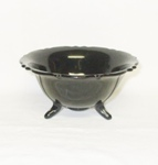 "Black Amythest 6"" Mt Pleasant 3 Footed Bowl - Product Image"