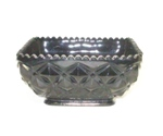 "Black Amythest 5 1/2"" Square Ftd. Diamond Quilt Bowl - Product Image"