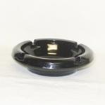 """Black Amythest 4 1/2"""" Ash Tray - Product Image"""