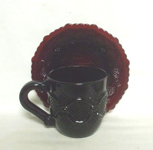Avon 1876 Cape Cod Coffee Cup & Saucer - Product Image