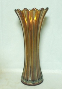 Westmoreland Carnival Amethyst Corinth Vase - Product Image