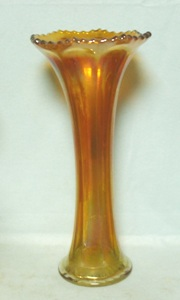 Imperial Carnival Marigold Flute Vase - Product Image