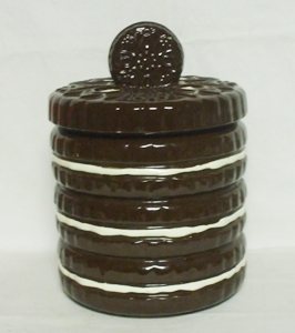 Oreo Cookie Newer Unmarked Cookie Jar - Product Image