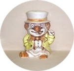 Treasure Craft Hobo Clown Cookie Jar - Product Image