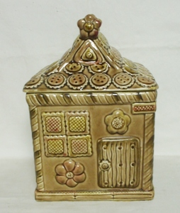 Top Line Imports Japan Ginger Bread House Cookie Jar - Product Image