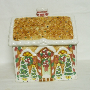 Cardinal Inc Ginger Bread House Cookie Jar - Product Image