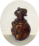 Calfornia Originals Sitting Turtle Cookie Jar - Product Image