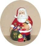 J.C.Penney Hearthside Santa Cookie Jar MIB - Product Image