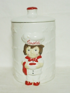 Campbells Soup Houston Harvest 1999 Cookie Jar - Product Image