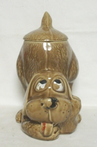 McCoy Thinking Puppy Cookie Jar - Product Image