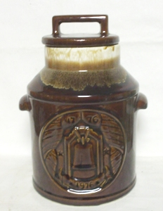 McCoy Brown 1972 Milk Can Cookie Jar - Product Image