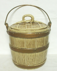 McCoy Brown Water Bucket Cookie Jar - Product Image