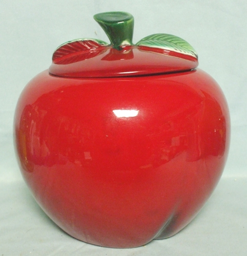 McCoy  Red Apple Cookie Jar - Product Image