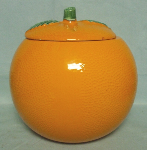 McCoy  Orange Cookie Jar - Product Image