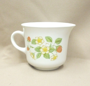 Corelle Rare Strawberry Sunday Creamer - Product Image