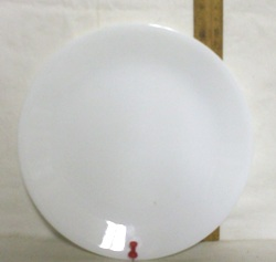 Corelle Winter Frost Lunch Plate. - Product Image