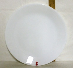 Corelle Winter Frost Dinner Plate. - Product Image