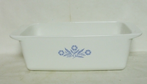 Corning Blue Cornflower 2 Quart Loaf Dish - Product Image