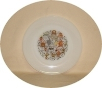 "Fire King Homestead 9 1/8"" Dinner Plate - Product Image"