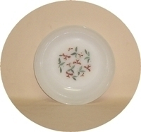 """Fire King Honeysuckle 6 5/8""""Soup Bowl - Product Image"""