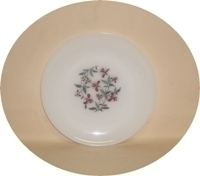 "Fire King Honeysuckle 9 1/8"" Dinner Plate - Product Image"