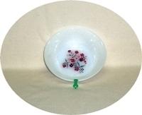 "Fire King Primrose 4 5/8"" Dessert Bowl - Product Image"
