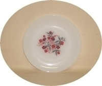 "Fire King Primrose 7 3/8""Salad Plate - Product Image"