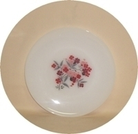 "Fire King Primrose 9 1/8"" Dinner Plate - Product Image"