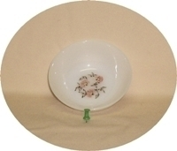 "Fire King Fleurette 4 5/8""Dessert Bowl - Product Image"