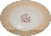 "Fire King Fleurette Large 9"" x 12""Oval Platter - Product Image"