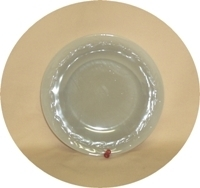 "Fire King Gray Laurel 8 1/4"" Vegetable Bowl - Product Image"