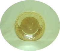 "Fire King Peach Lustre Laurel 7 3/8""Salad Plate - Product Image"