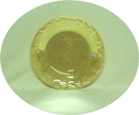 "Fire King Peach Lustre Laurel 9 1/8""Dinner Plate - Product Image"