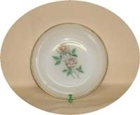 "FireKing Anniversary Rose 6 5/8""Soup Bowl. - Product Image"