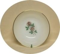 "Fireking Anniversary Rose 8 1/4"" Vegetable Bowl. - Product Image"