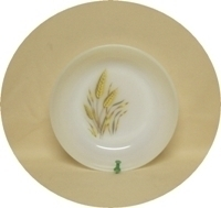 """Fire King Wheat 6 5/8"""" Soup Bowl - Product Image"""