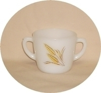 Fire King Wheat Sugar Bowl no Lid - Product Image