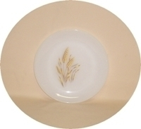 "Fire King Wheat 7 3/8""Salad Plate - Product Image"
