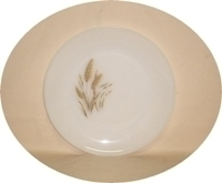 "Fire King Wheat 10""Dinner Plate - Product Image"