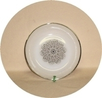 """Fire King Vienna Lace 6 5/8""""Soup Bowl. - Product Image"""