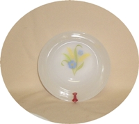 """Fire King Forget-Me-Not 4 5/8"""" Dessert Bowl - Product Image"""