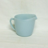Fire King Turquoise Blue Creamer - Product Image