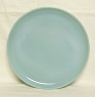 "Fire King Turquoise Blue 10""Dinner Plate - Product Image"