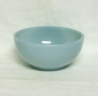 "Fire King Turquoise Blue 5""Cereal or Chili Bowl - Product Image"