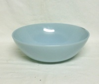 "Fire King Turquoise Blue 8"" Vegetable Bowl - Product Image"
