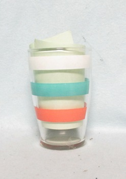 "Fiesta Stripe Tapered 3 3/4"" Juice Glass - Product Image"