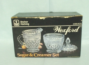 Wexford Cream & Sugar Set In the Original Box - Product Image