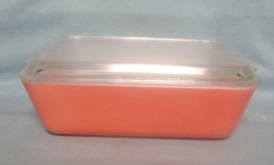 Pyrex Primary Color Pink Large Refigerator Dish - Product Image