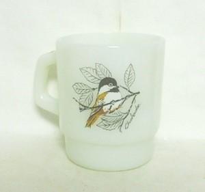 Fireking Chickadee & Baltimore Oriole Stackable Mug - Product Image