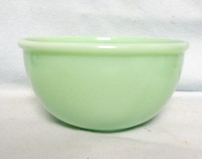 "Fireking Jadite 6"" Bead Edge Mixing Bowl - Product Image"